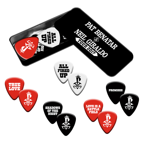 Pat Benatar & Neil Giraldo Pick Tin Set