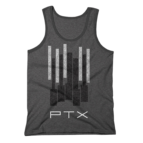 Big Piano Keys Tank