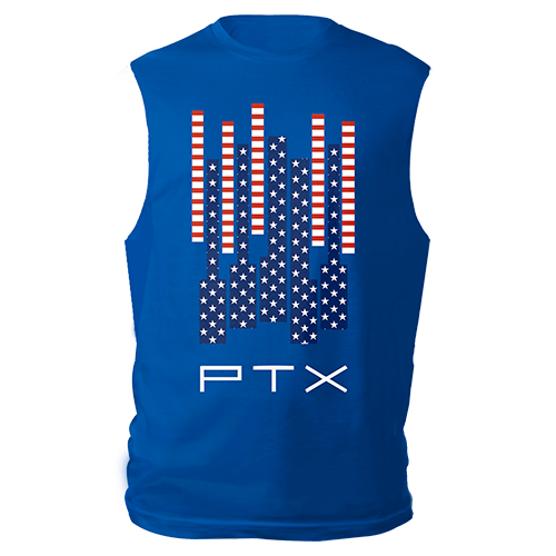 Stars N' Stripes Royal Muscle Tank