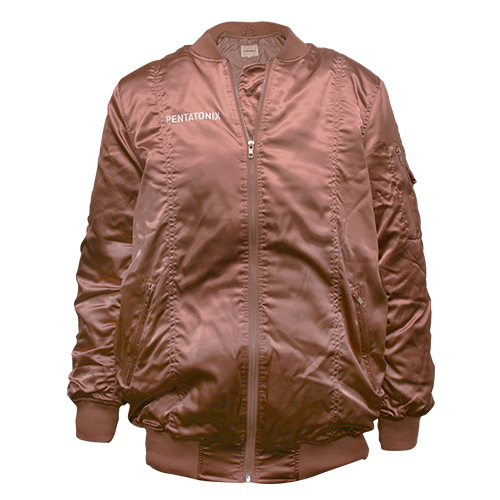 Limited Edition Rose Gold Bomber Jacket