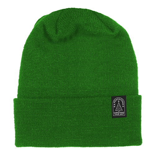 Christmas Tour 2017 Green Beanie
