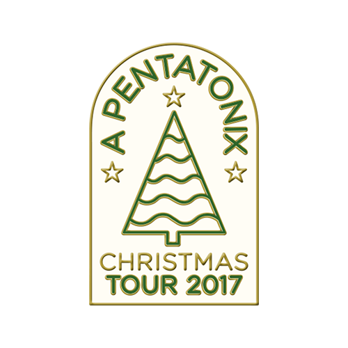 Christmas Tour 2017 Enamel Pin