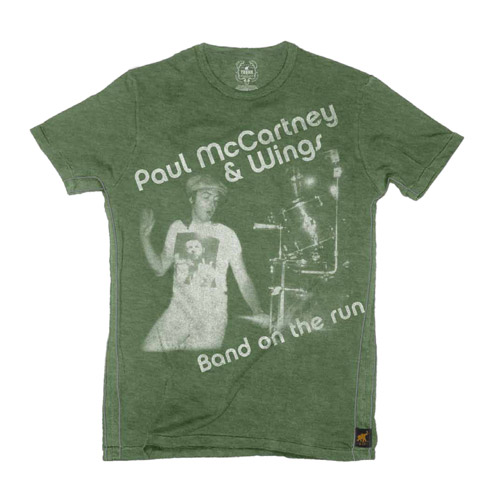 Trunk Paul McCartney & Wings Band On The Run Tee