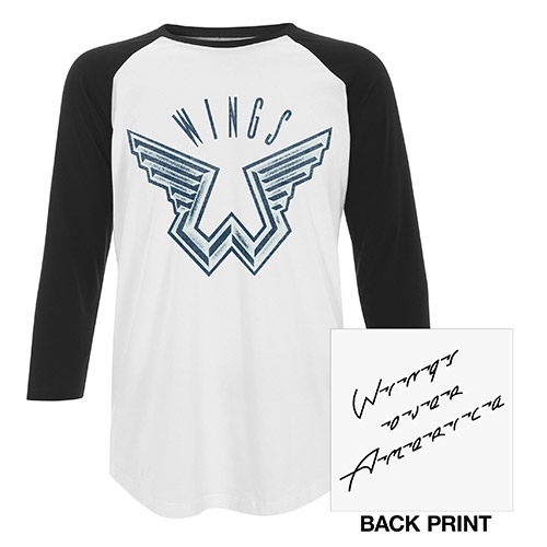 Wings Over America Unisex Raglan Tee