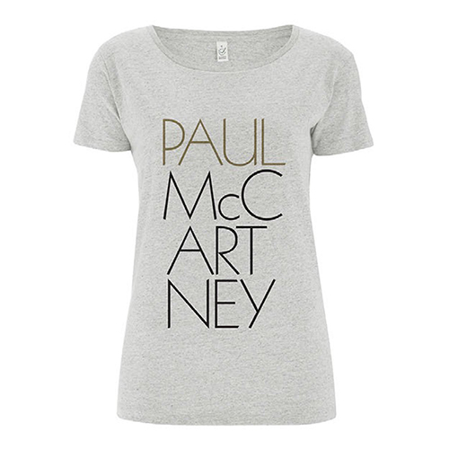 'Pure McCartney' Ladies Grey T-shirt