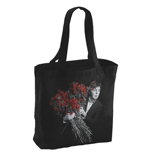 My Valentine Black Photo Tote Bag