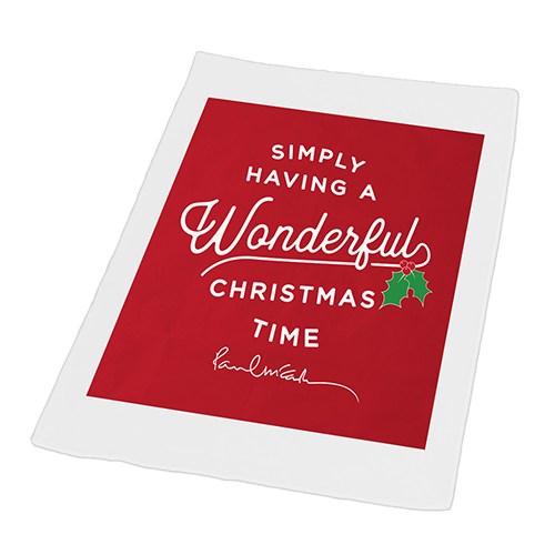 Wonderful Christmastime Tea Towel