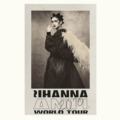 Rihanna Anti World Tour Lenticular Poster