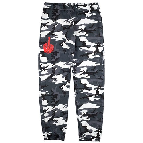 Rihanna Snow Camo Sweatpants