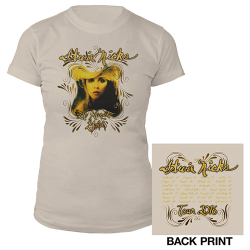 Stevie Nicks 24 Karat Gold Album Cover Tour Tee