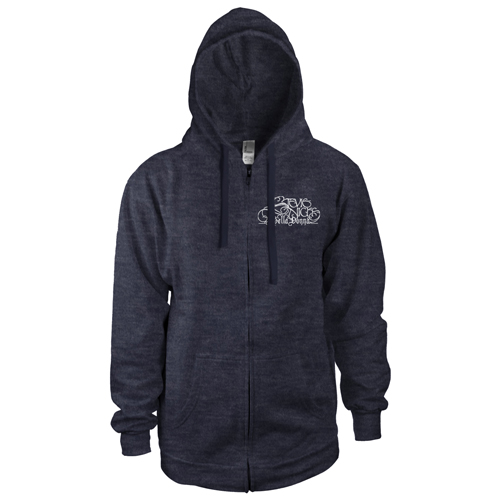 Stevie Nicks Zip Up Hooded Sweatshirt