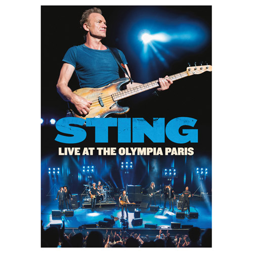 STING: LIVE AT THE OLYMPIA PARIS BluRay