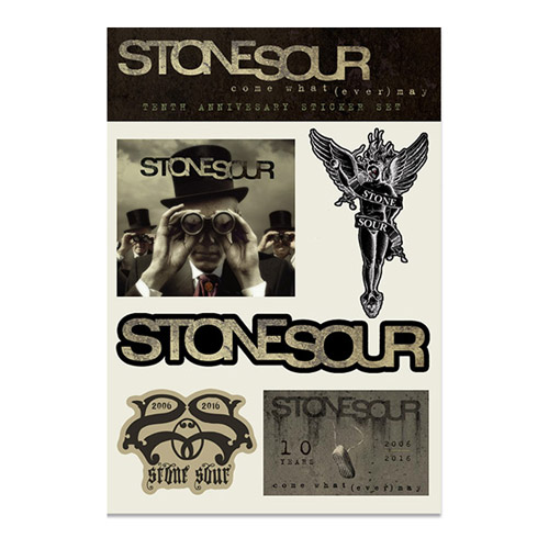 STONESOUR COME WHAT(EVER) MAY ANNIVERSARY STICKER SET