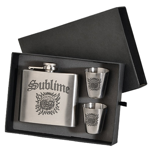 Sublime Flask & Shot Glass Gift Set