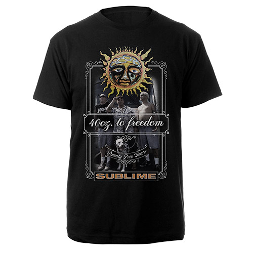 Sublime 25th Anniversary Mens Tee