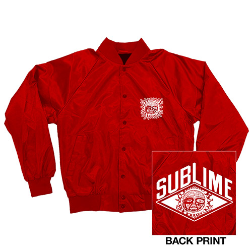 Sublime Women's Red Satin Jacket