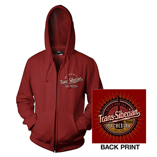 Cardinal Red TSO Zip-Up Hoodie