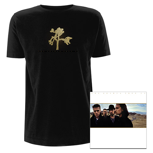 The Joshua Tree Deluxe 2CD & T-shirt