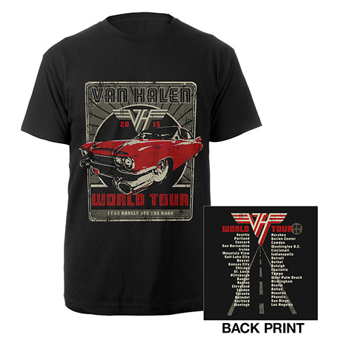 Classic Car World Tour Tee