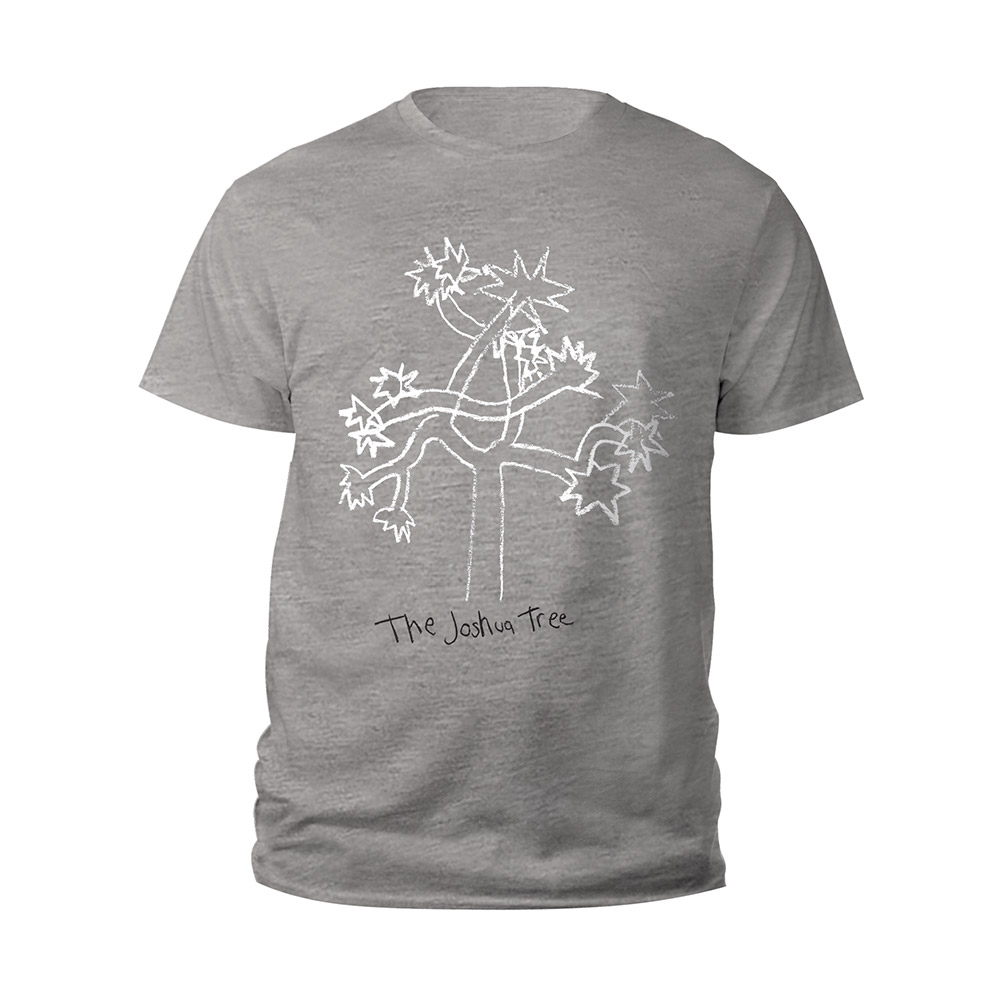 U2 Official Store | U2 The Joshua Tree Grey Kids T-shirt